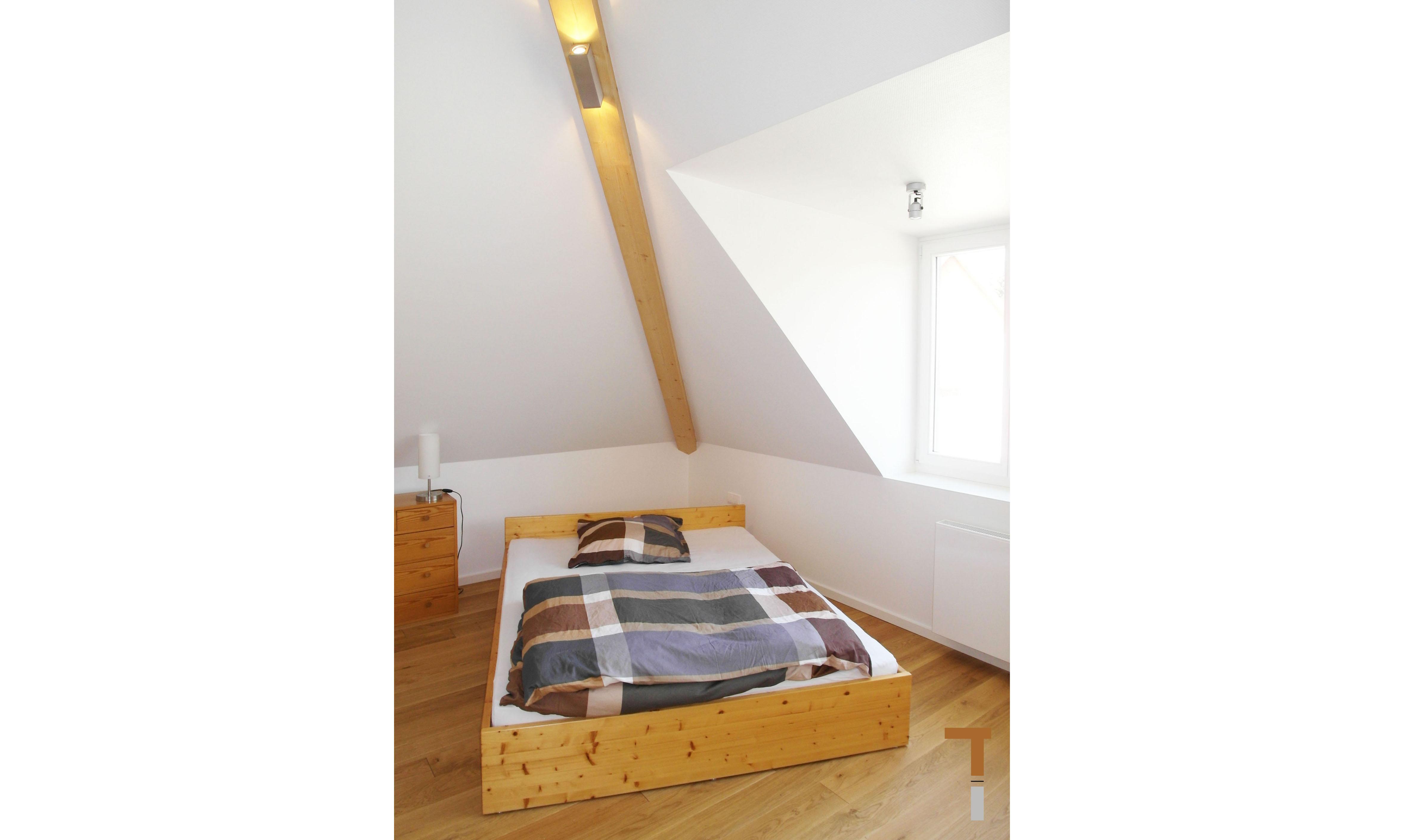 Dachgeschoss / Gratsparren